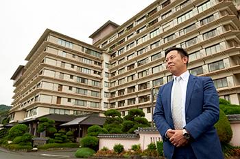 株式会社ホテル銀水荘 副社長メッセージ