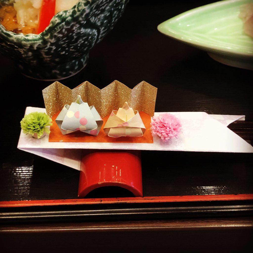 雛祭り箸袋